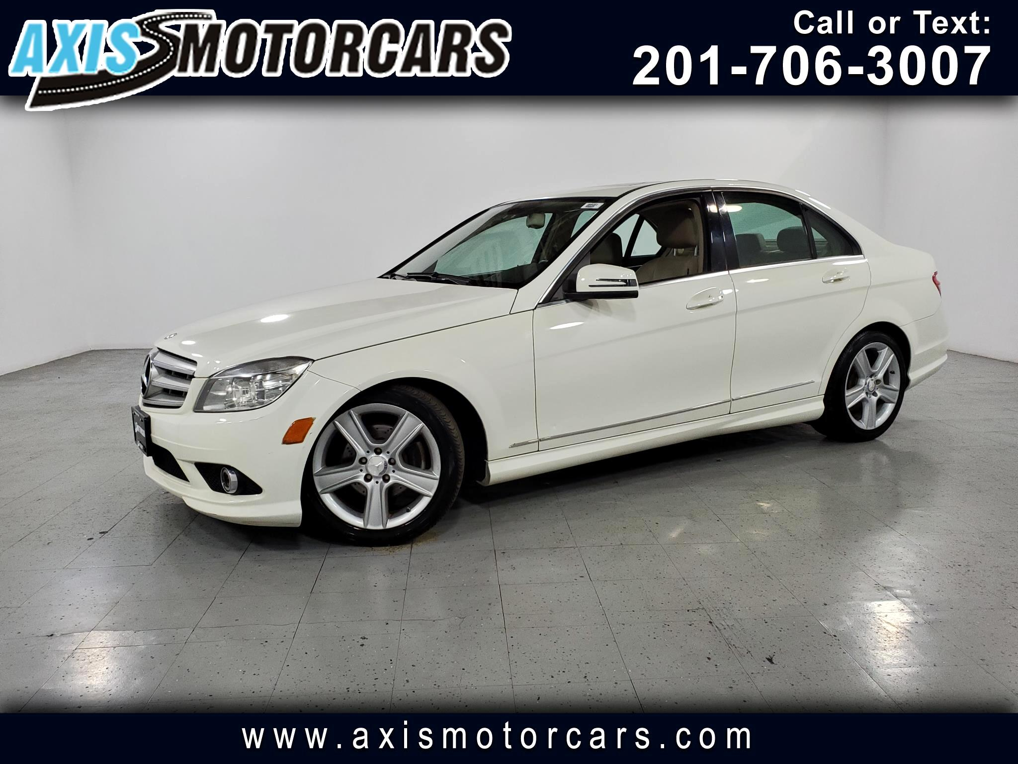 2010 Mercedes-Benz C300 w/Navigation Sunroof Leather