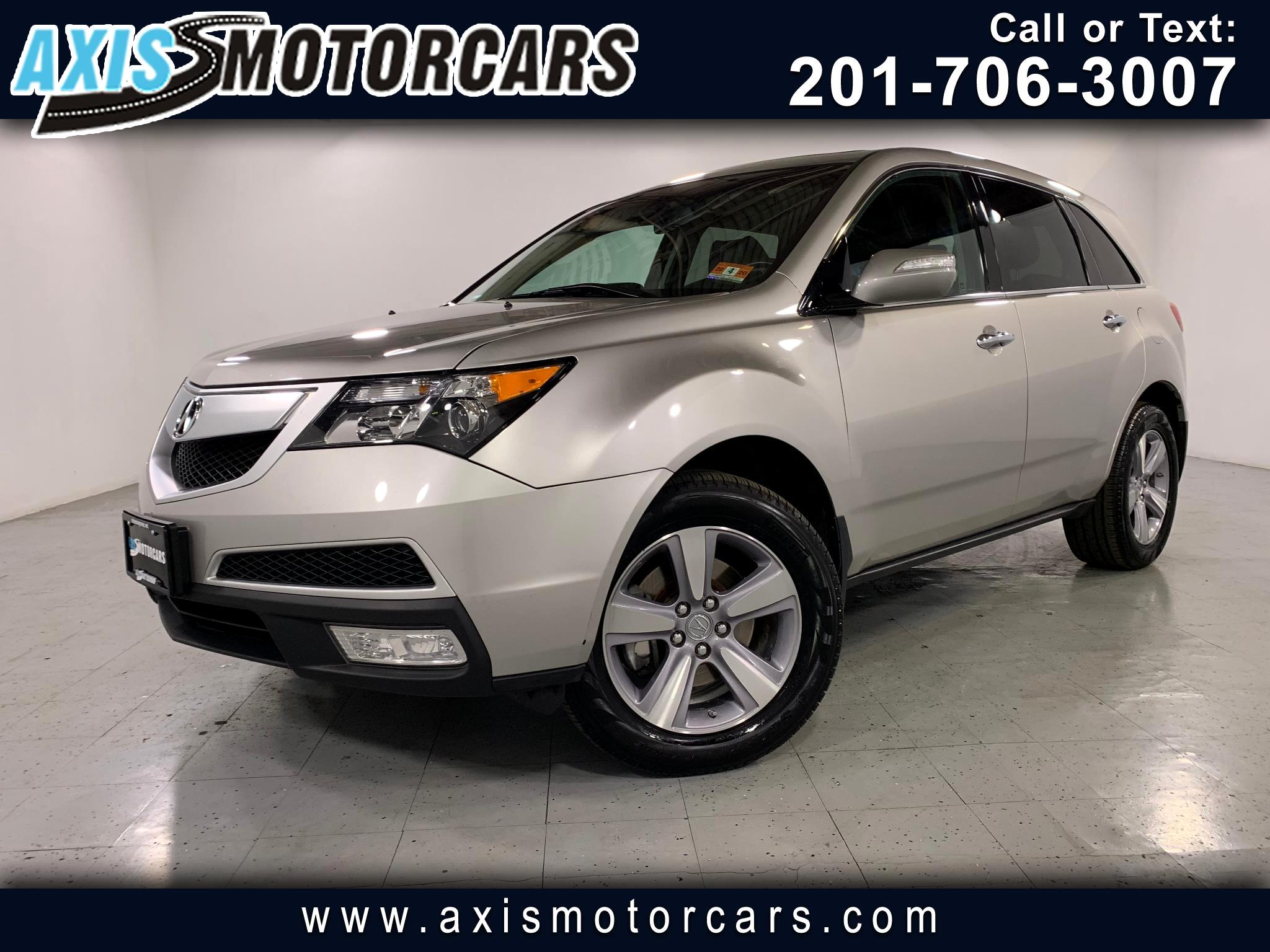 2013 Acura MDX Tech PKG w/Navigation Backup Camera Sunroof
