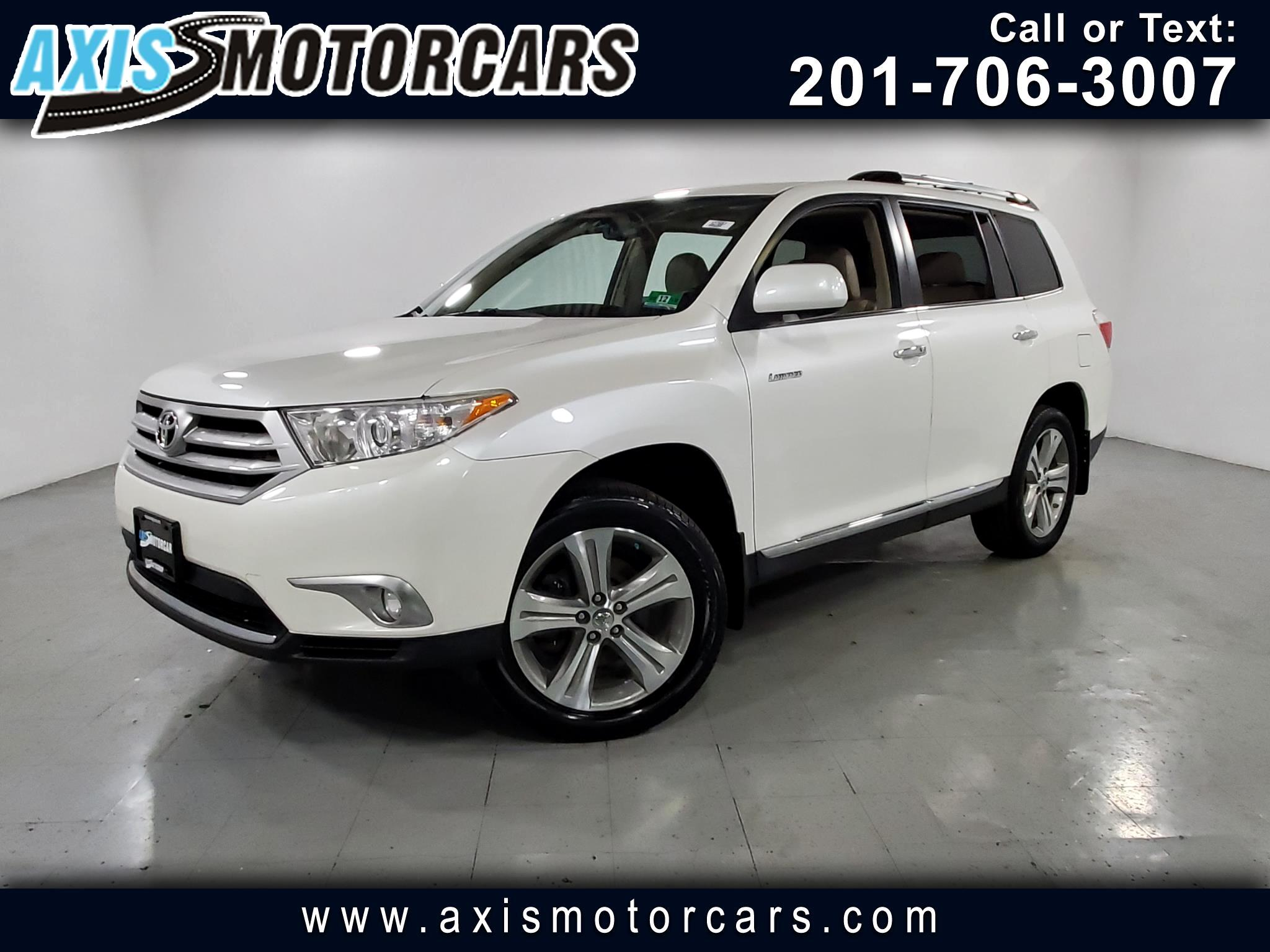 2012 Toyota Highlander Limited w/Navigation Backup Camera JBL Sound
