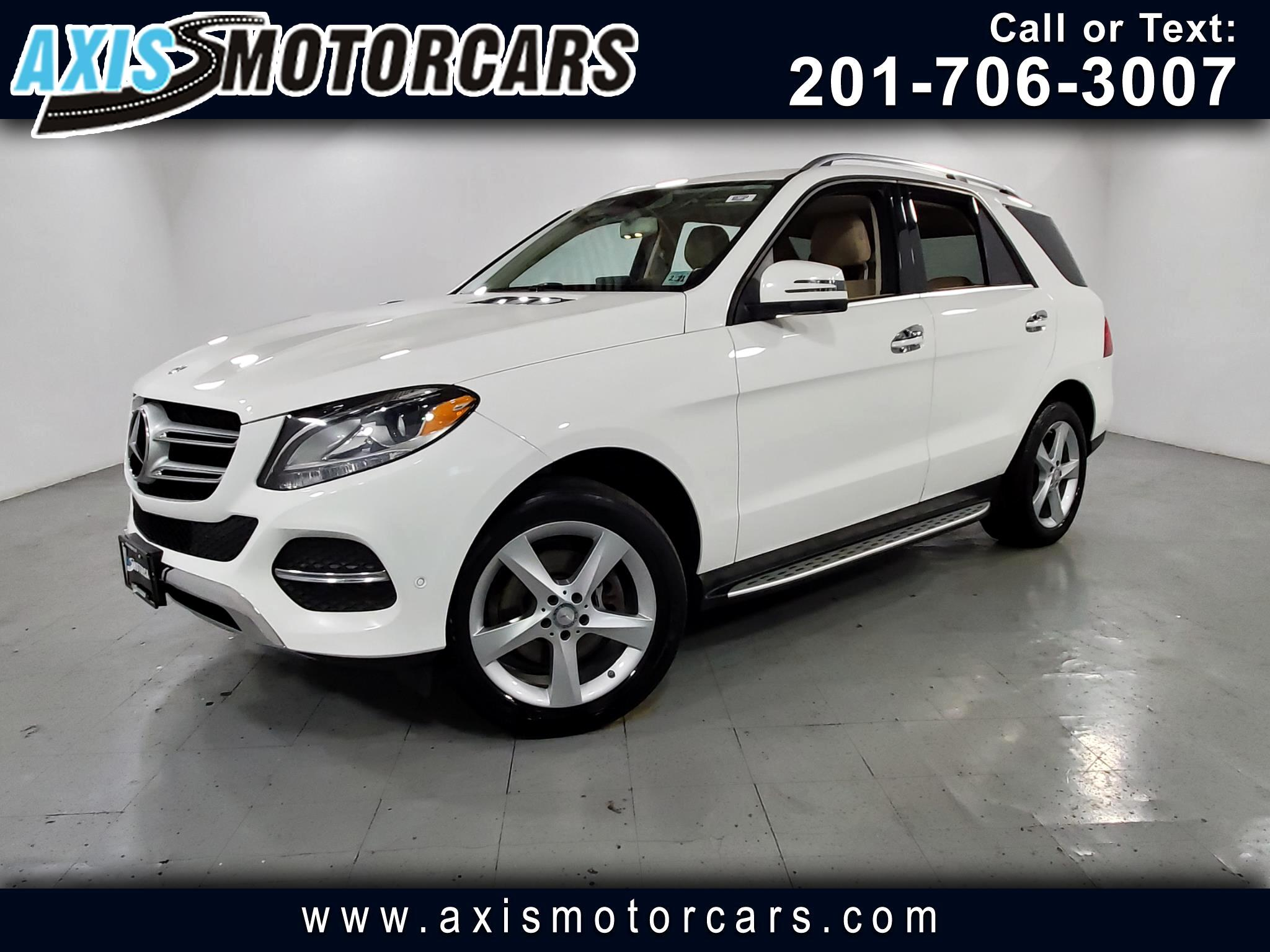 2016 Mercedes-Benz GLE 350 w/Navigation Backup Camera 360
