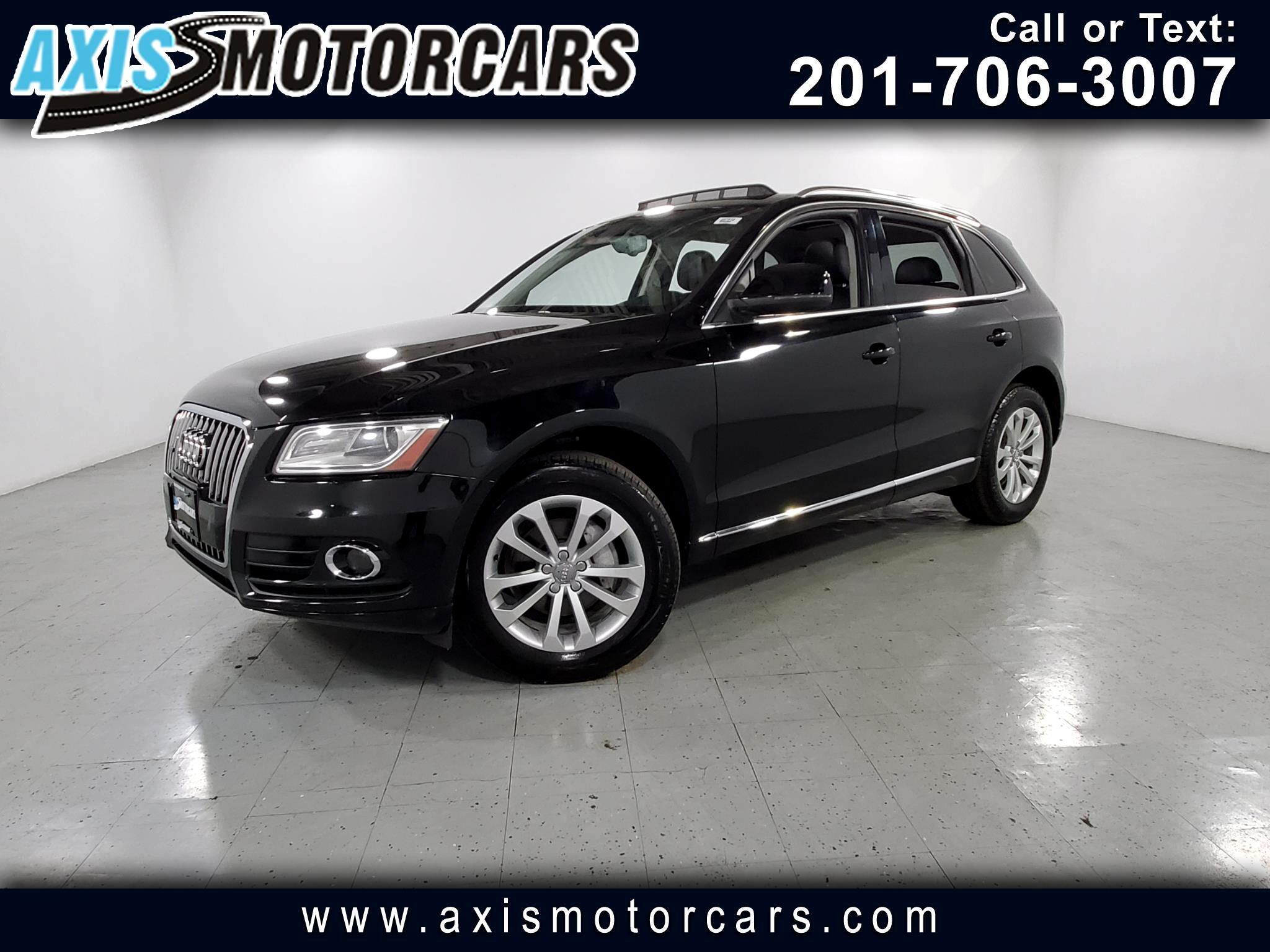 2013 Audi Q5 w/Navigation Leather Panoramic Roof