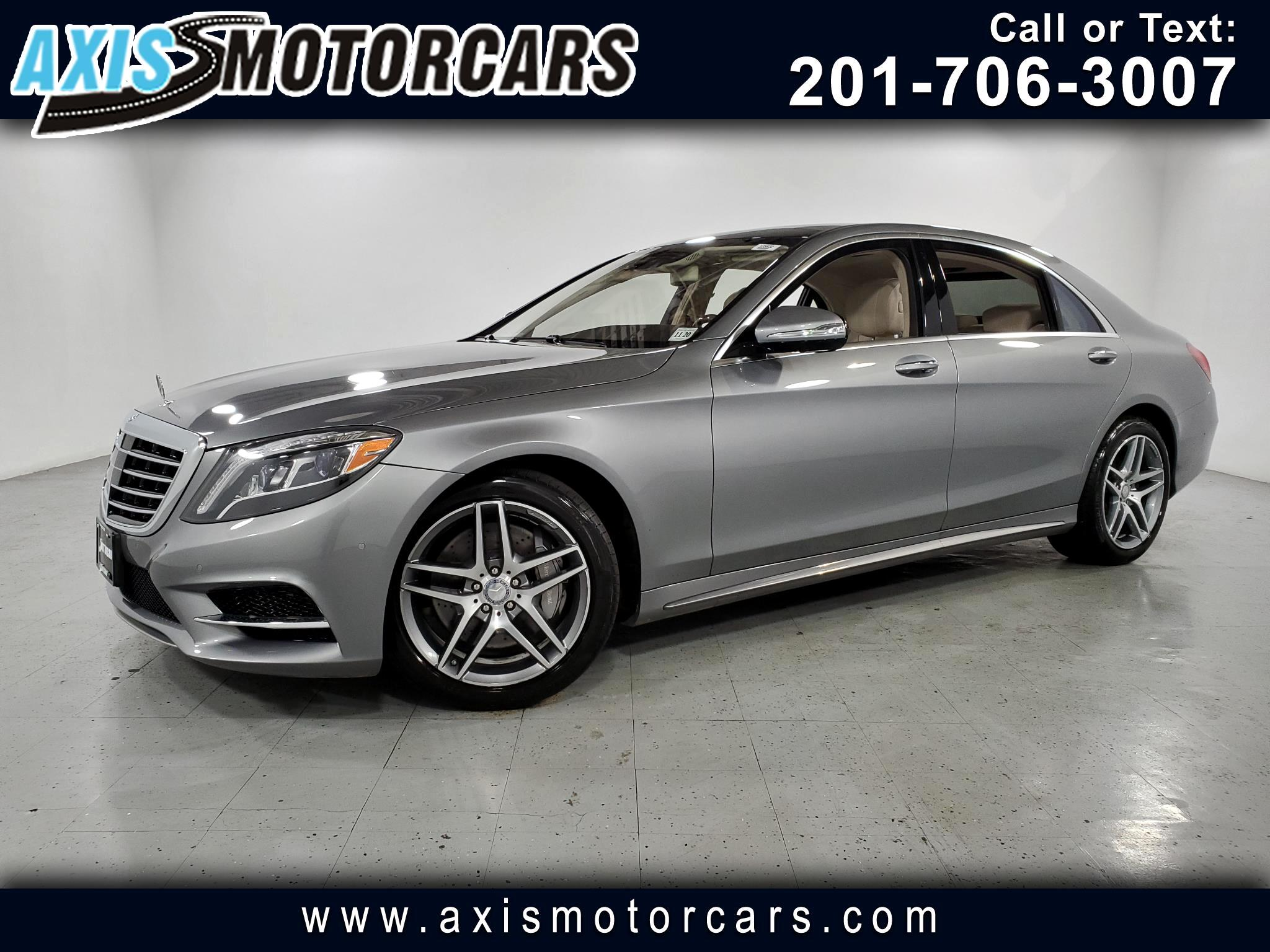 2015 Mercedes-Benz S550 w/Bumester Sound Navigation Bakup Camera