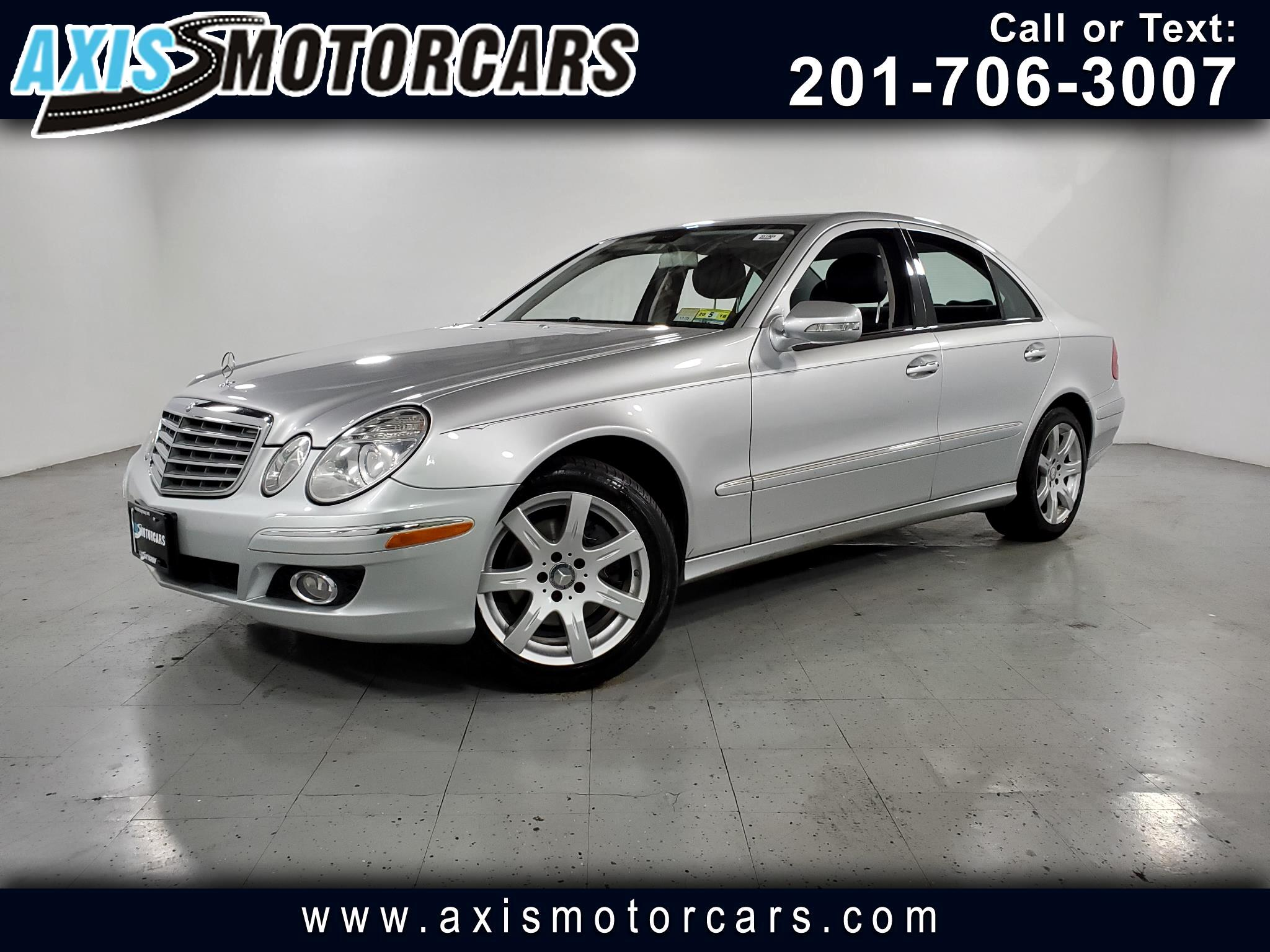 2008 Mercedes-Benz E350 w/Navigation Sunroof Leather