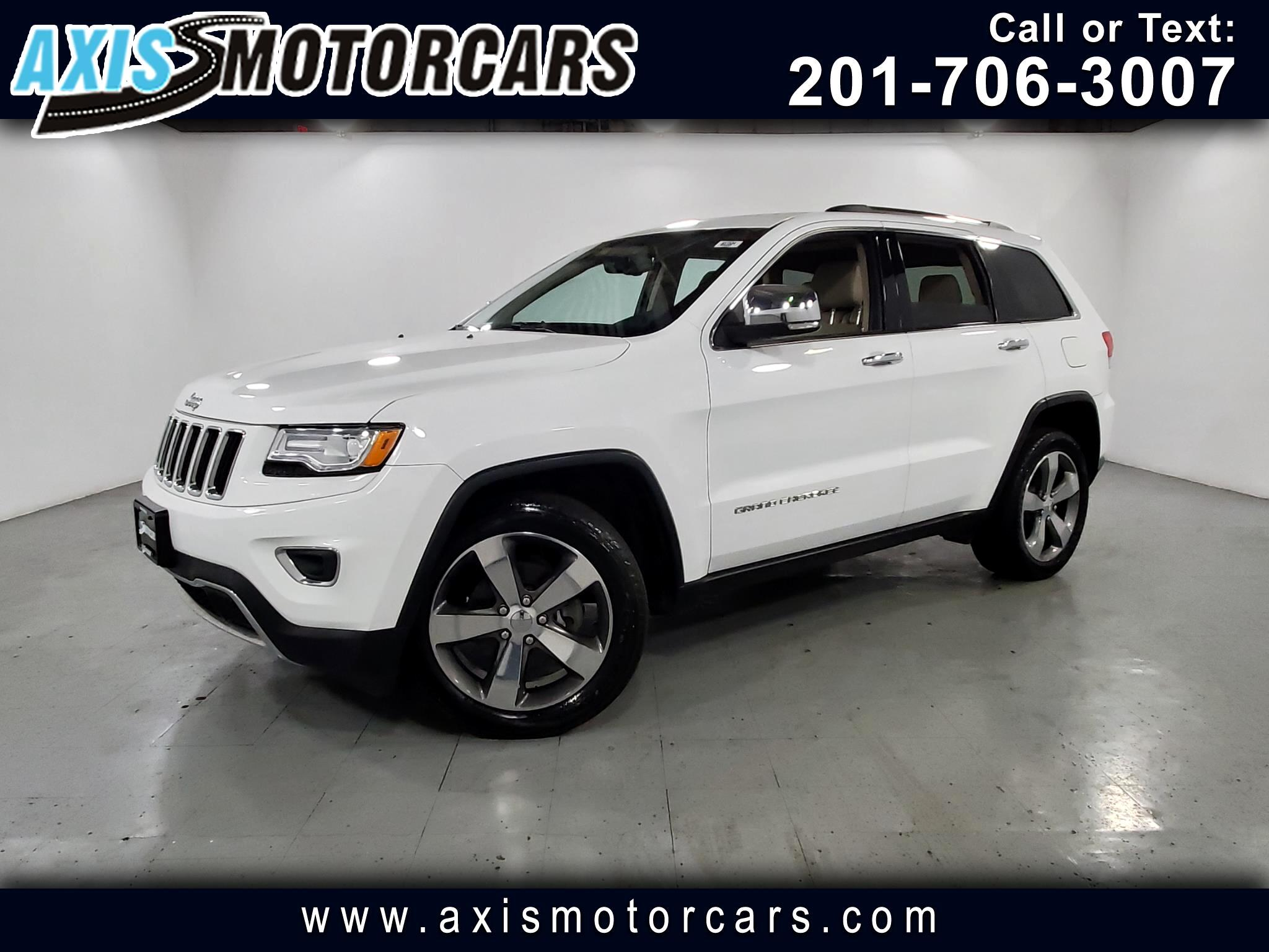 2015 Jeep Grand Cherokee w/Panoramic Roof Navigation Bakup Camera