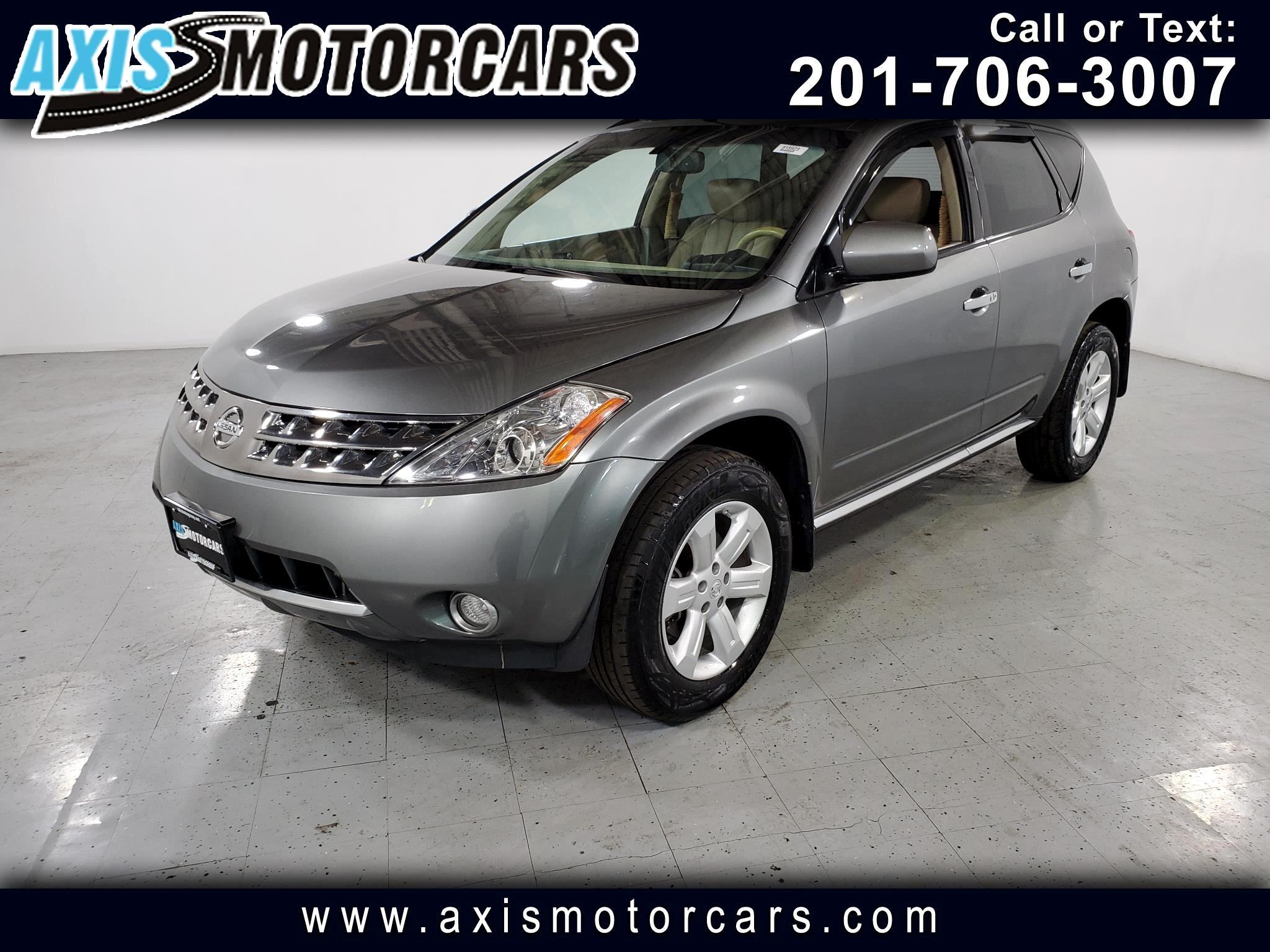2007 Nissan Murano SL w/Backup Camera Sunroof Leather