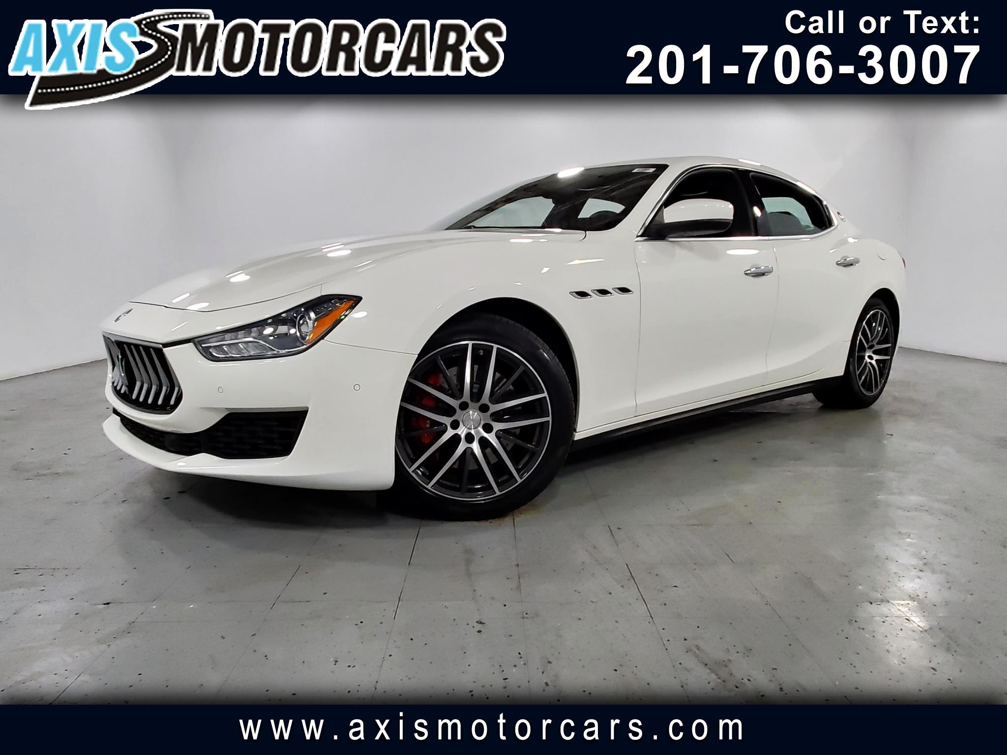 2018 Maserati Ghibli SQ4 w/Sunroof Navigation Bakup Camera