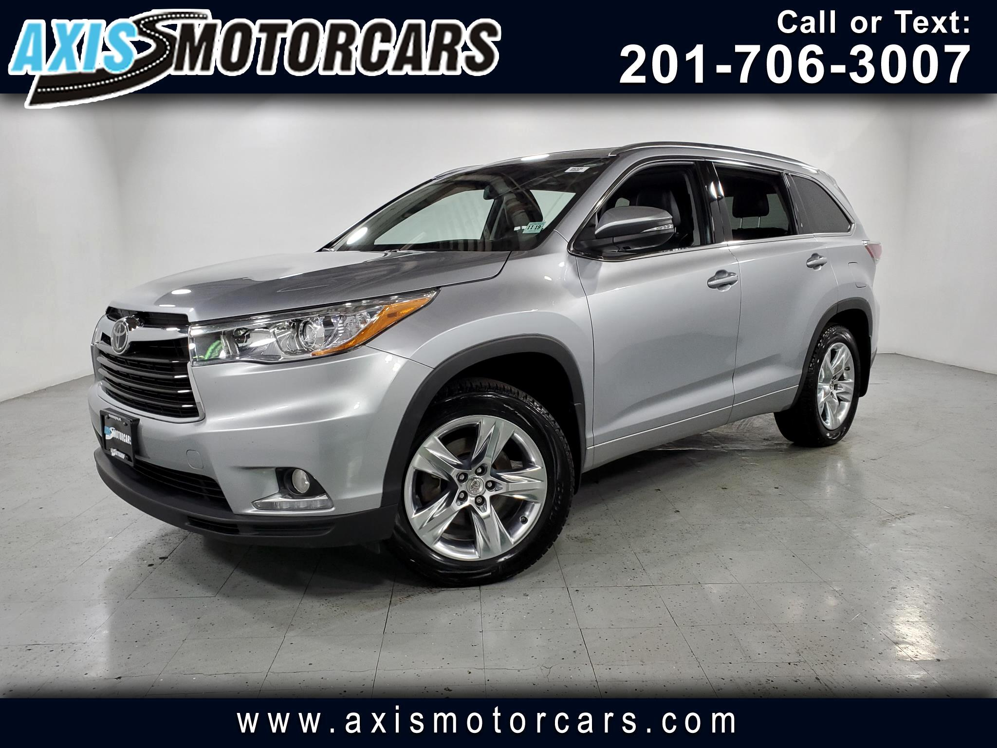 2015 Toyota Highlander Limited w/Navigation Backup Camera