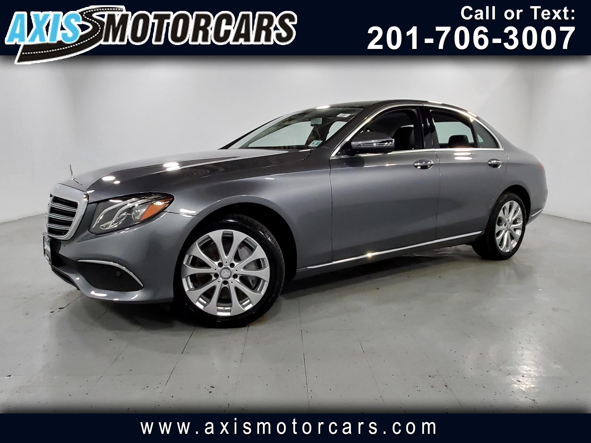 2017 Mercedes-Benz E300 w/Burmester Sound System Navigation Backup Camera