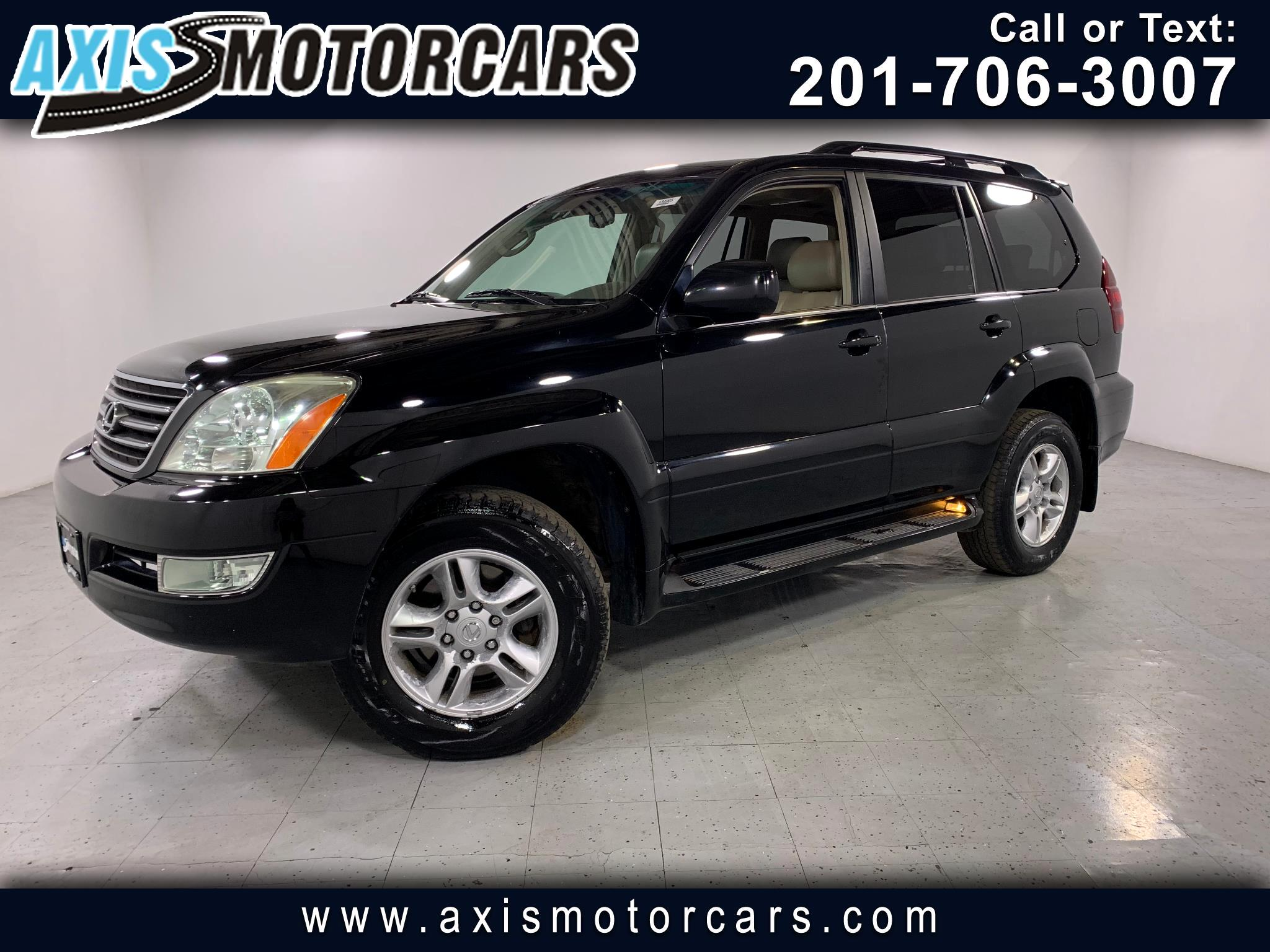 2007 Lexus GX 470 w/Mark Levinson Sound Rear Entertainment Sunroof