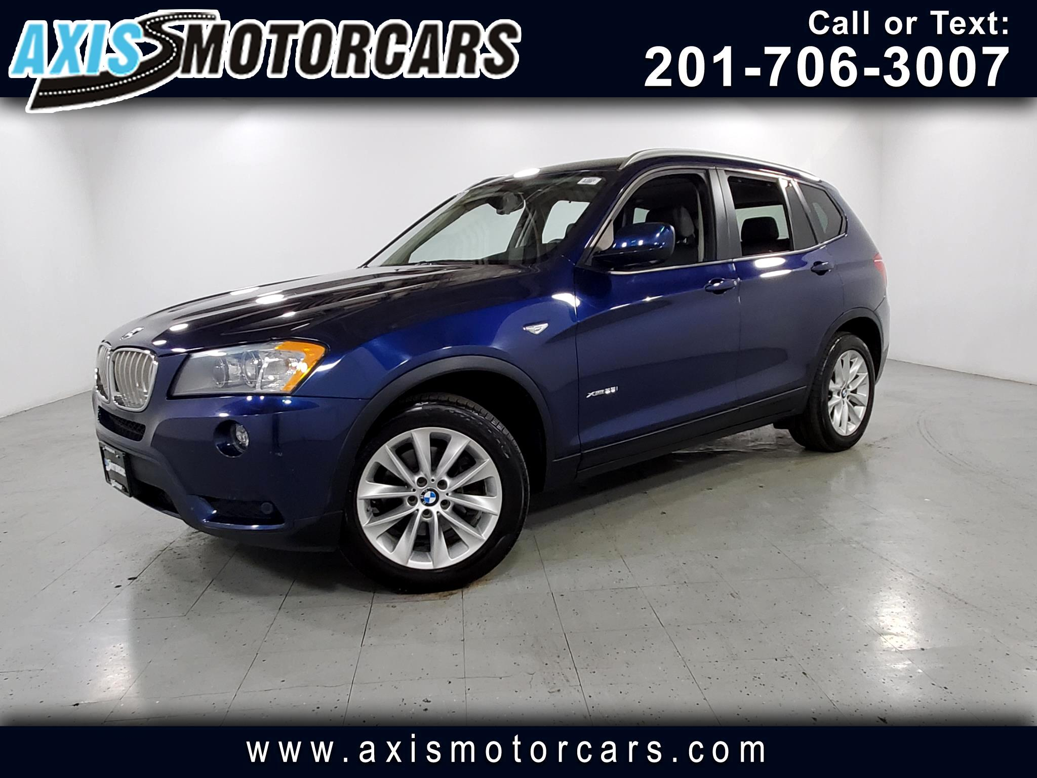 2013 BMW X3 w/Navigation Backup Camera Panoramic Roof
