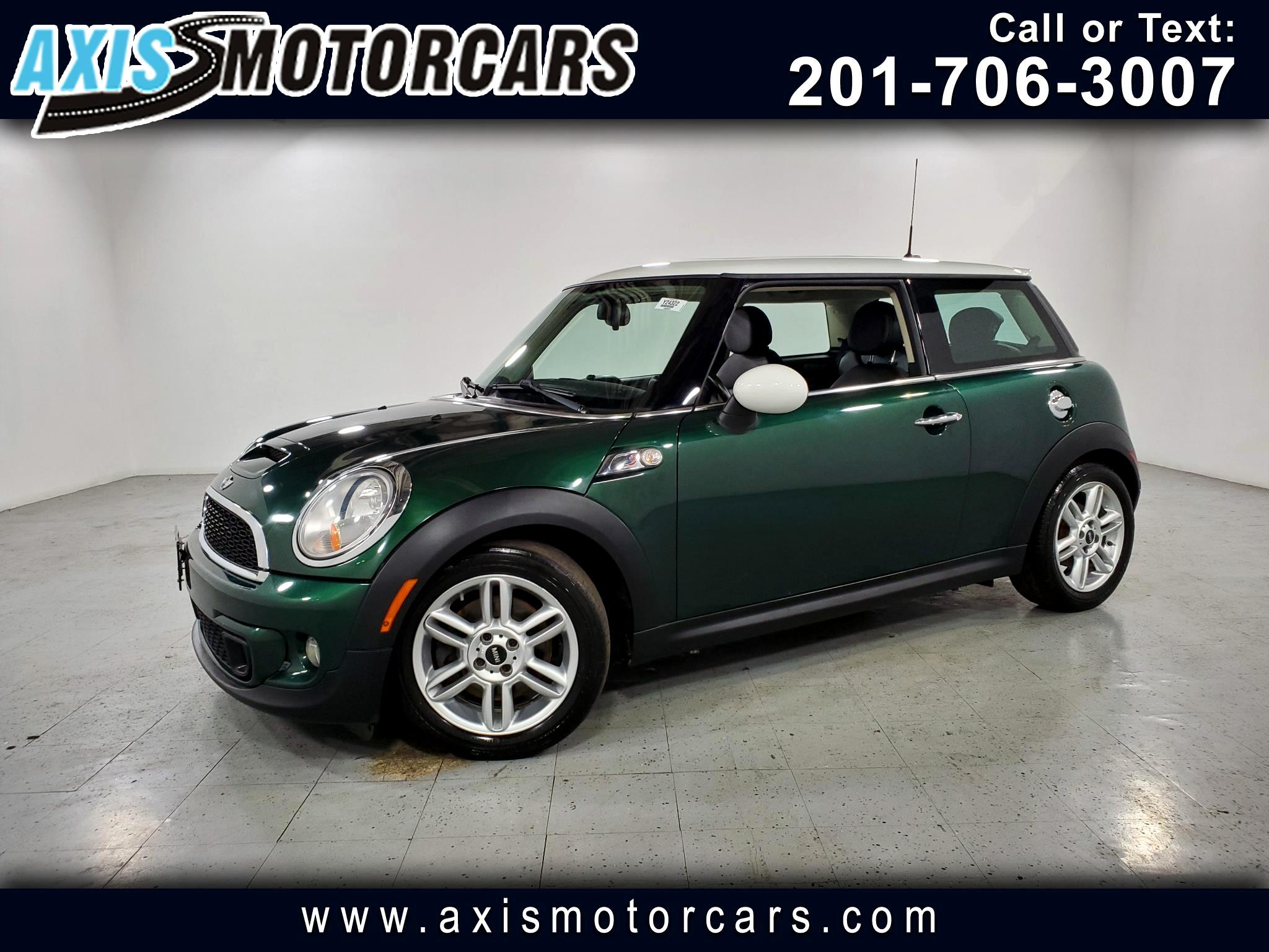 2011 MINI Cooper Hardtop Cpe S w/Leather Panoramic Roof