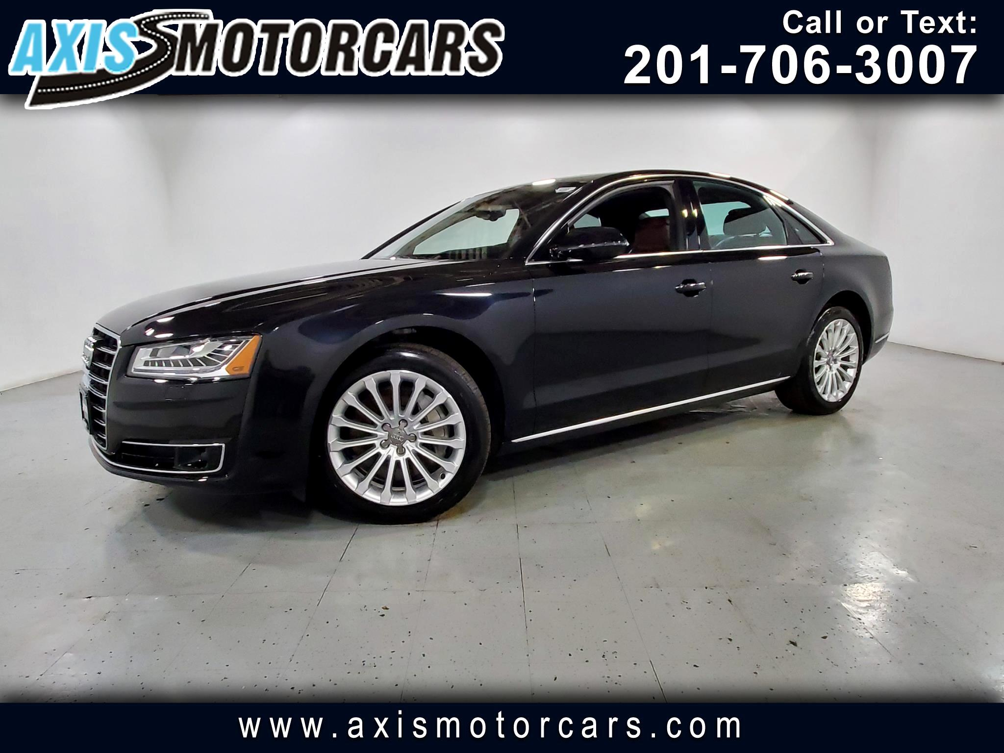 2015 Audi A8 w/Bose Sound Navigation Backup Camera 360