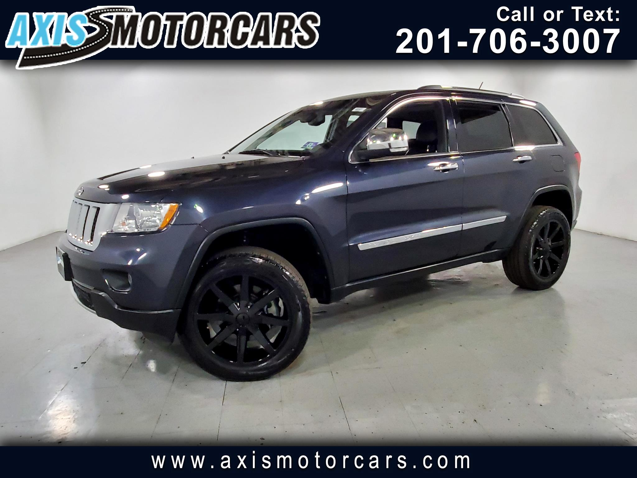 2013 Jeep Grand Cherokee w/Navigation Backup Camera Sunroof