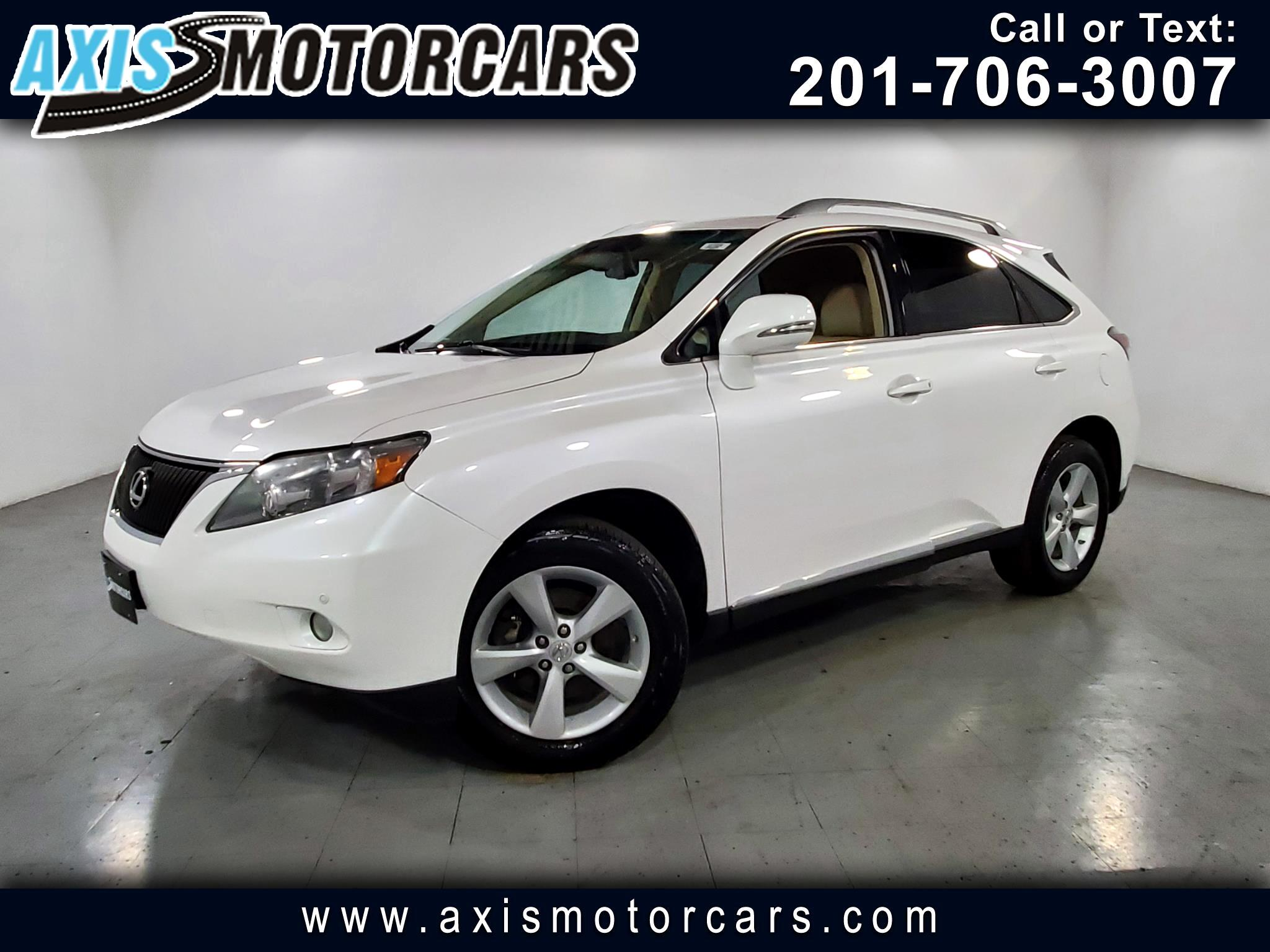 2012 Lexus RX 350 w/Sunroof Leather