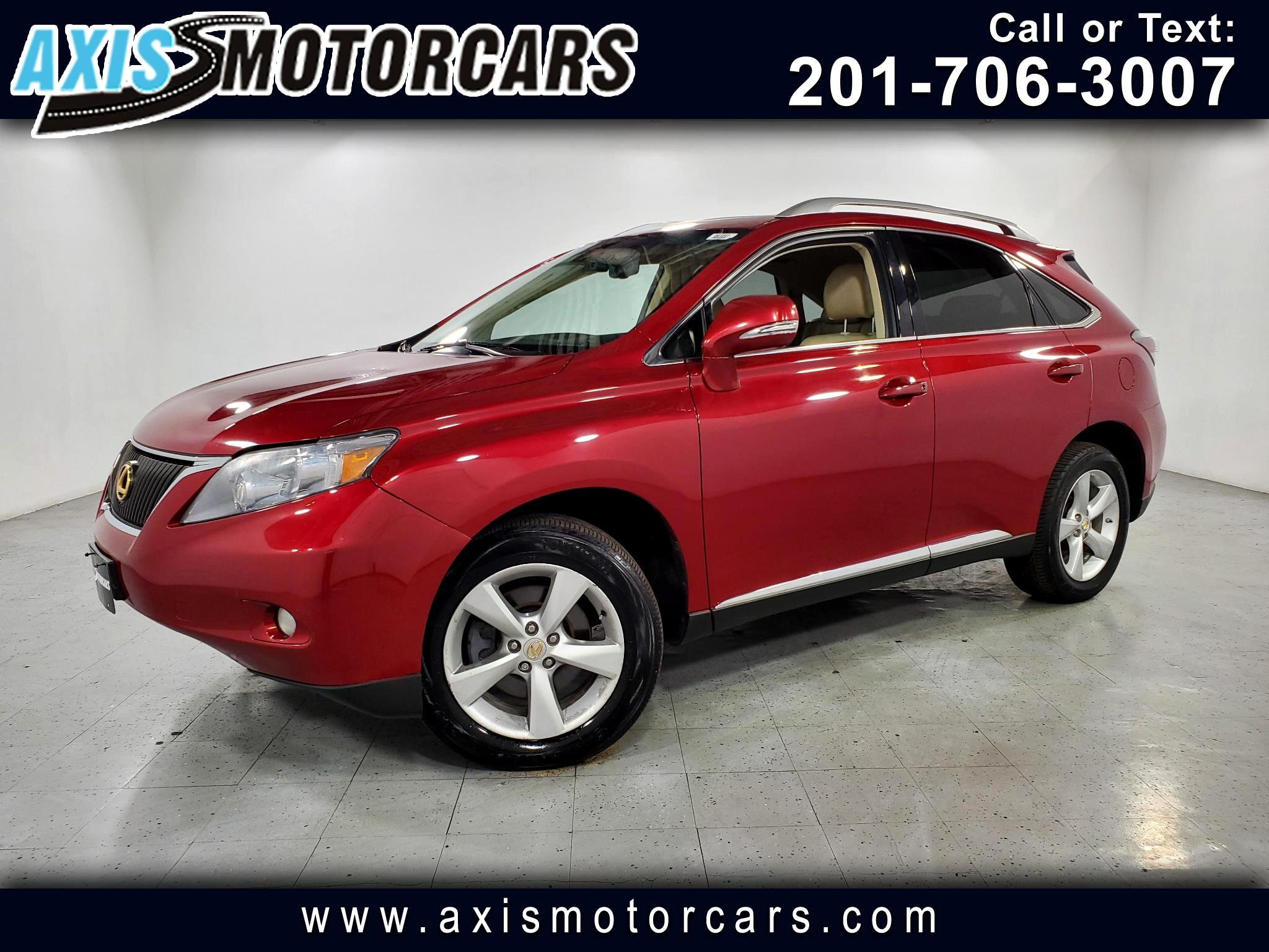 2010 Lexus RX 350 w/Navigation Backup Camera Sunroof