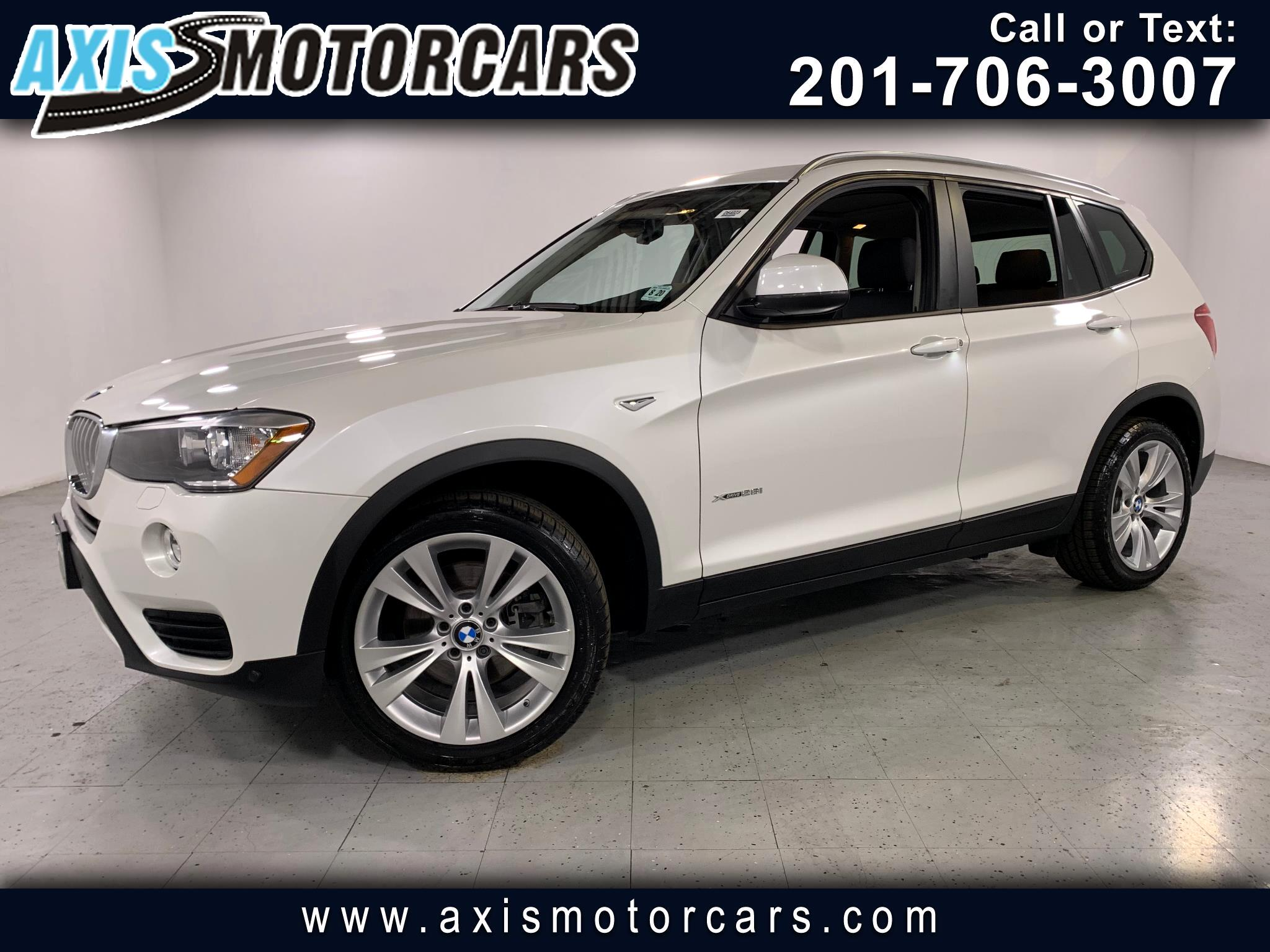 2016 BMW X3 w/Panoramic Roof Navigation
