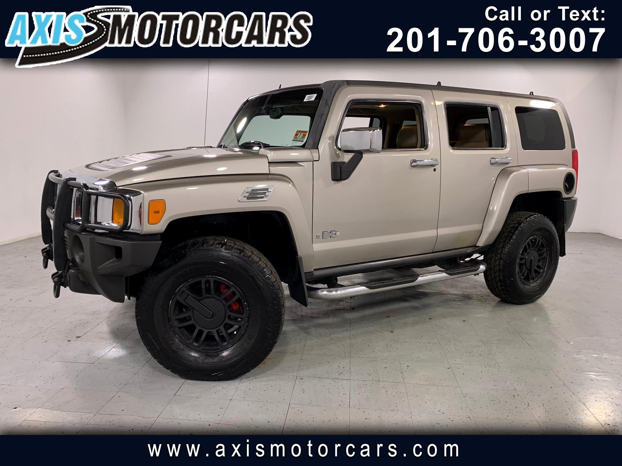 2006 HUMMER H3 w/Rear Entertainment System Sunroof