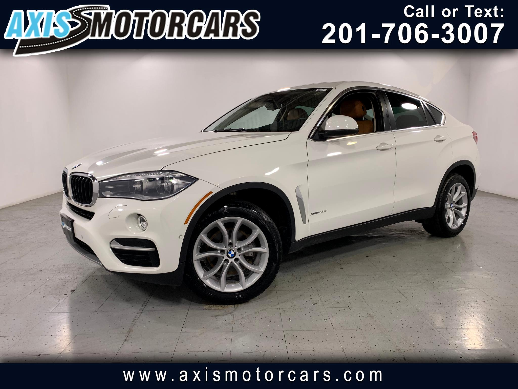 2016 BMW X6 w/Harman Kardon Sound Backup Camera 360 Navigation