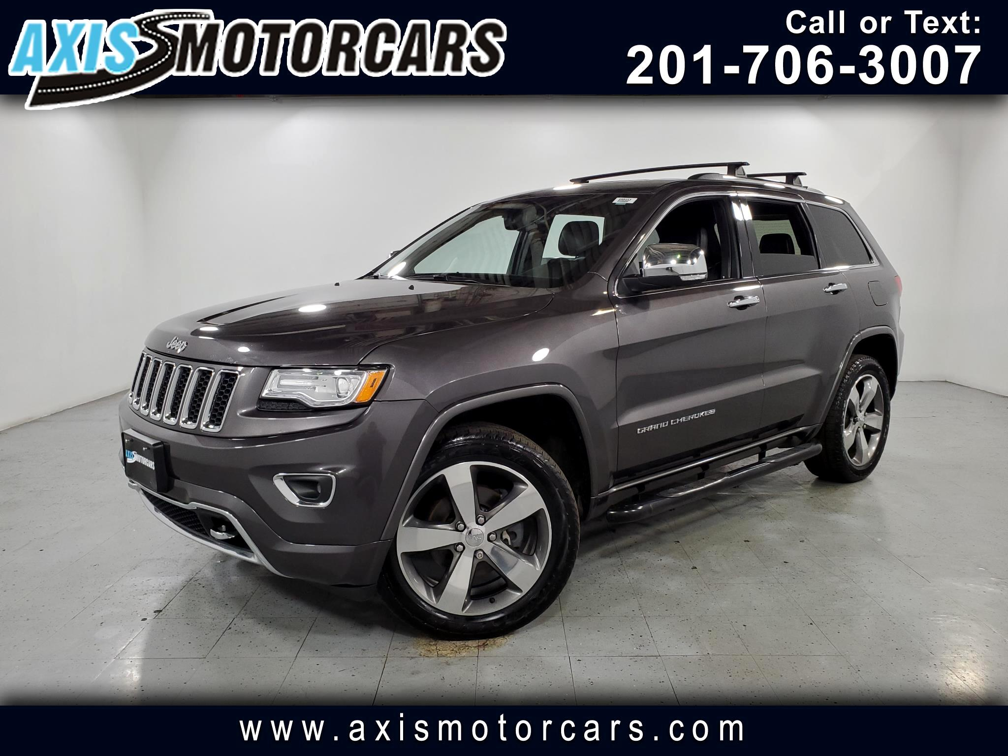 2015 Jeep Grand Cherokee w/Navigation Backup Camera Sunroof