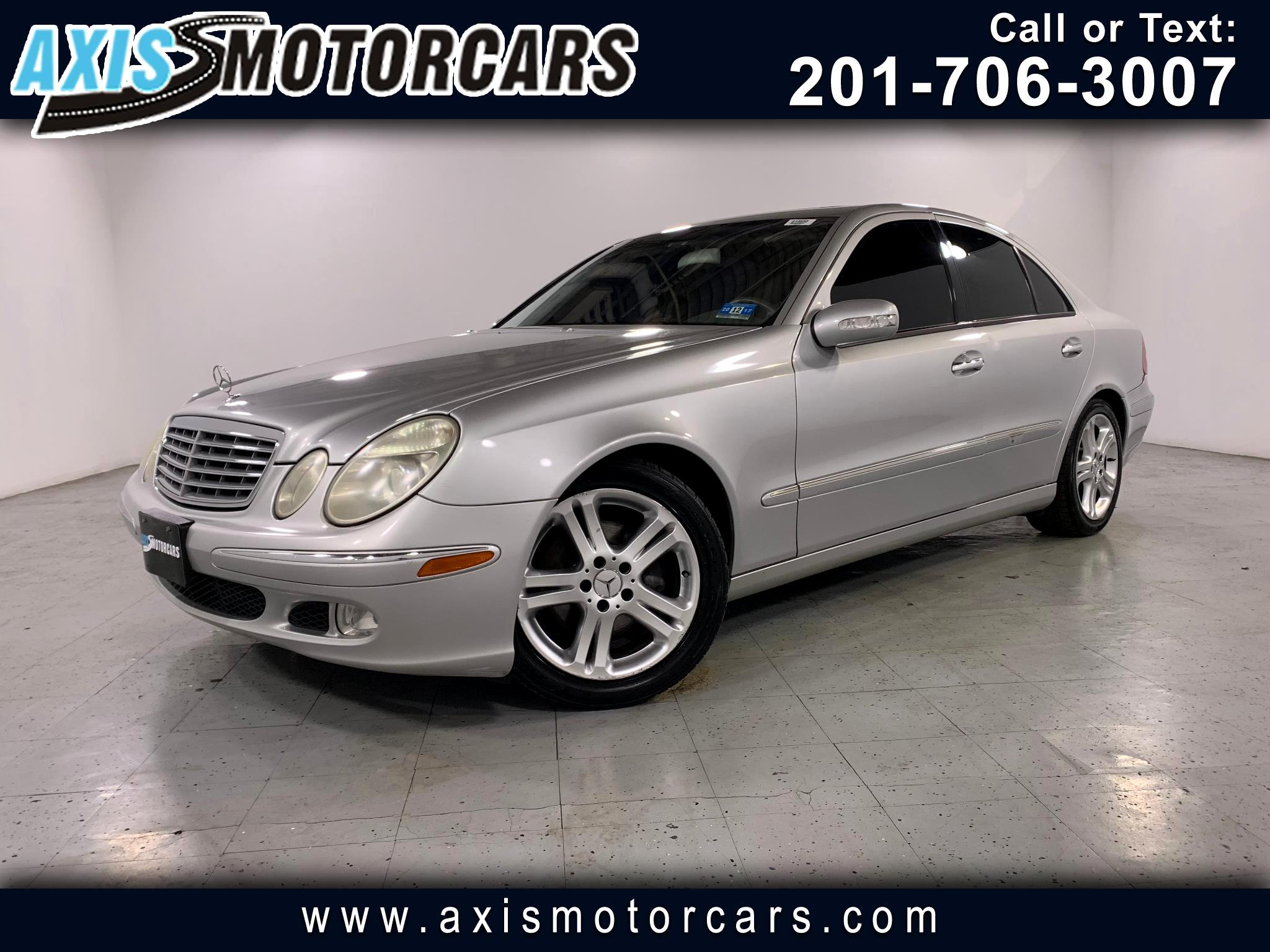 2005 Mercedes-Benz E500 w/Sunroof Navigation Leather