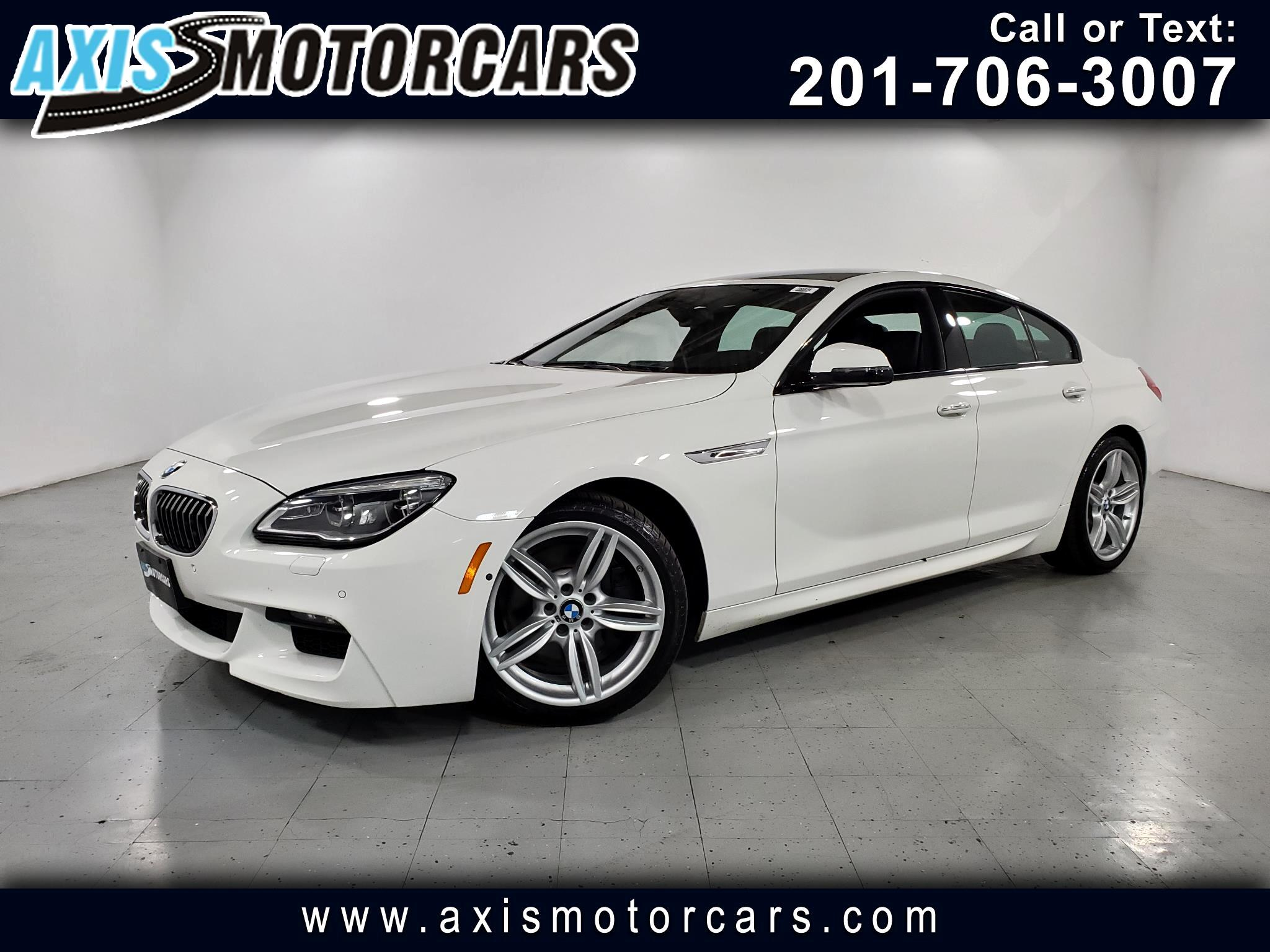 2016 BMW 640i Gran Coupe //M Pkg w/Navigation Backup Camera 360