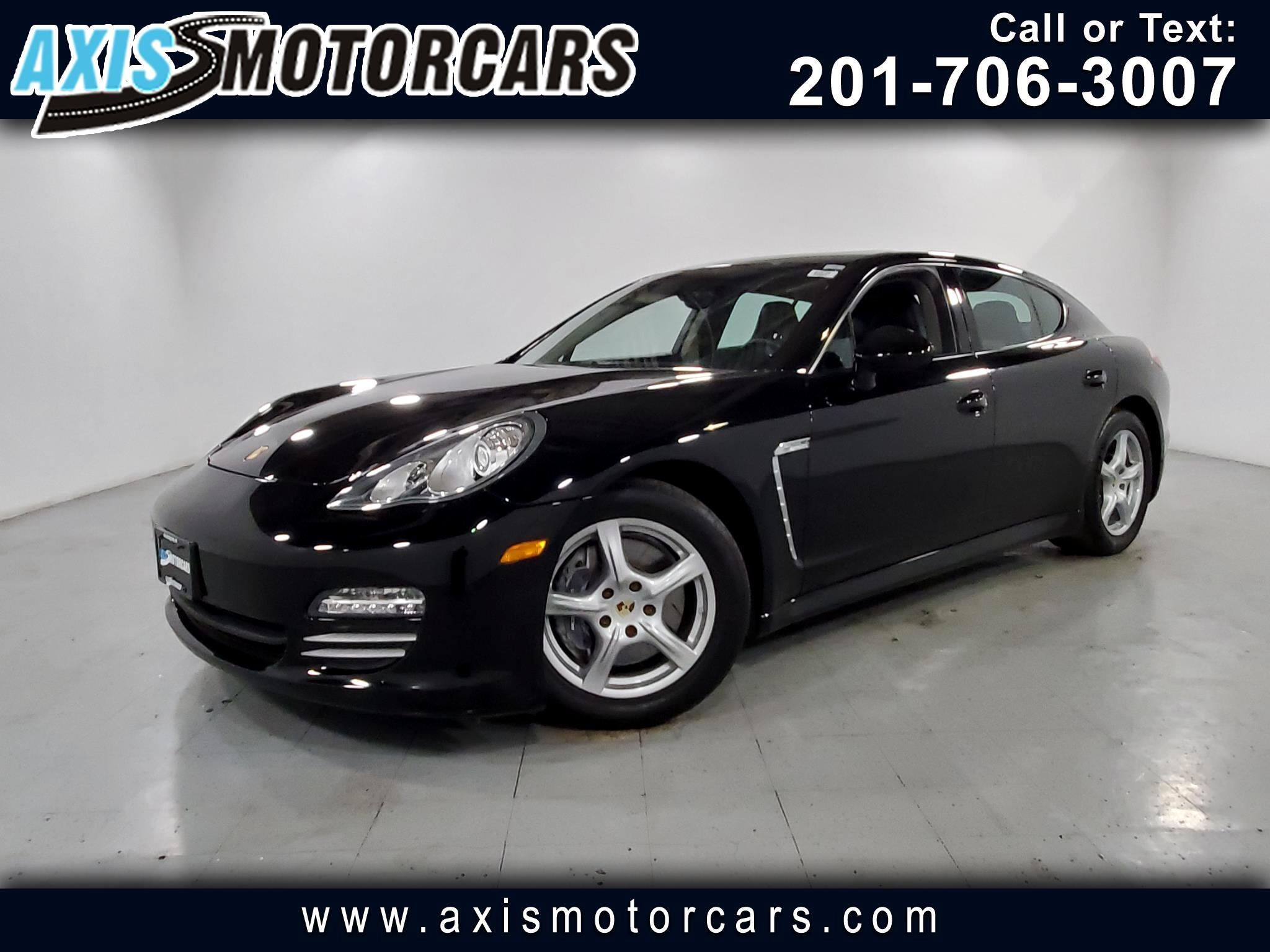2011 Porsche Panamera w/Bose Sound Navigation Backup Camera