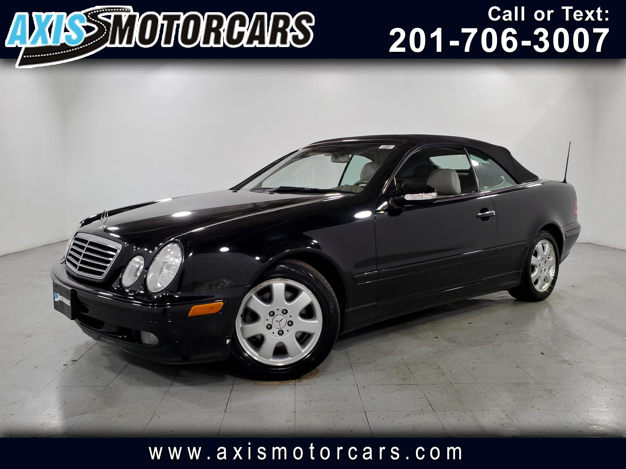2002 Mercedes-Benz CLK-Class CLK320 Cabriolet w/Leather