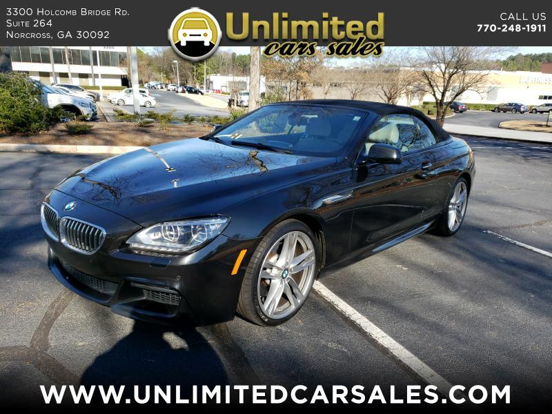 2014 BMW 6-Series 640i Convertible