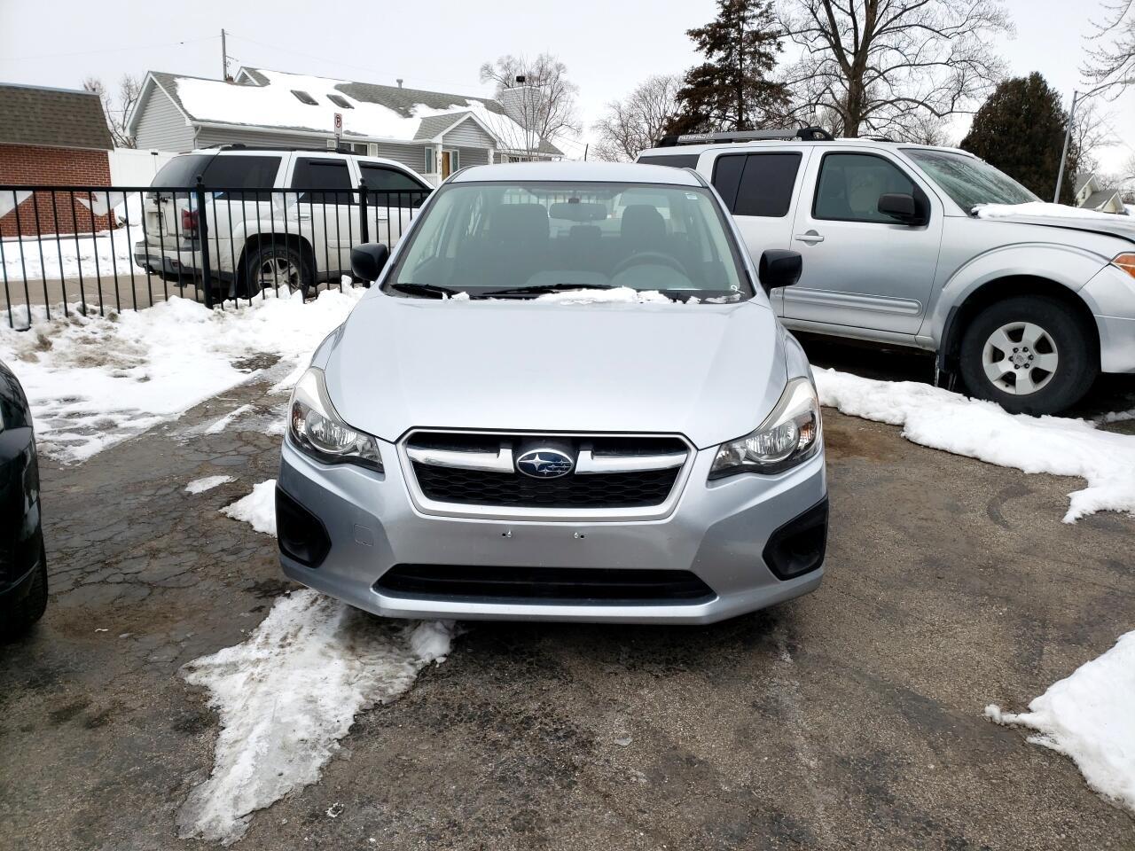 2013 Subaru Impreza Base 4-Door