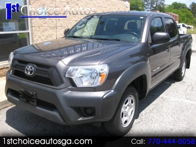 2013 Toyota Tacoma Double Cab Auto 2WD