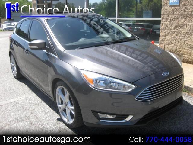 2015 Ford Focus Titanium Hatch