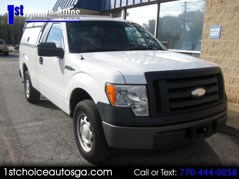"""2012 Ford F-150 2WD Reg Cab 122.5"""" XL"""