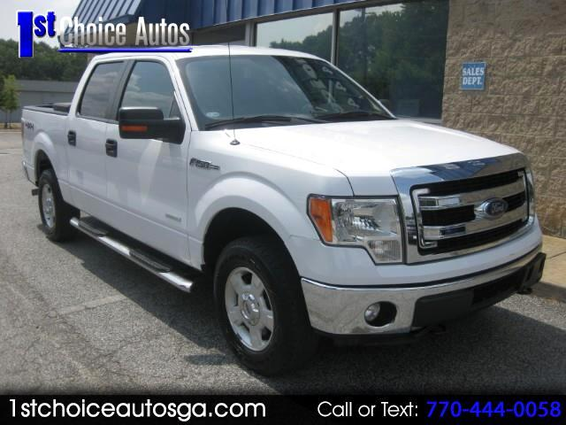 2014 Ford F-150 XLT 2WD SuperCrew 5.5' Box