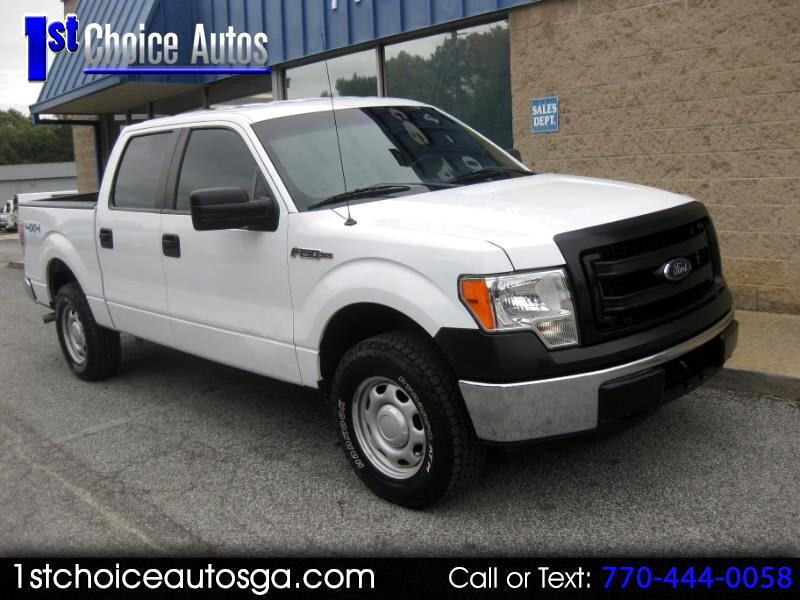 "2013 Ford F-150 2WD Supercab 163"" XL"