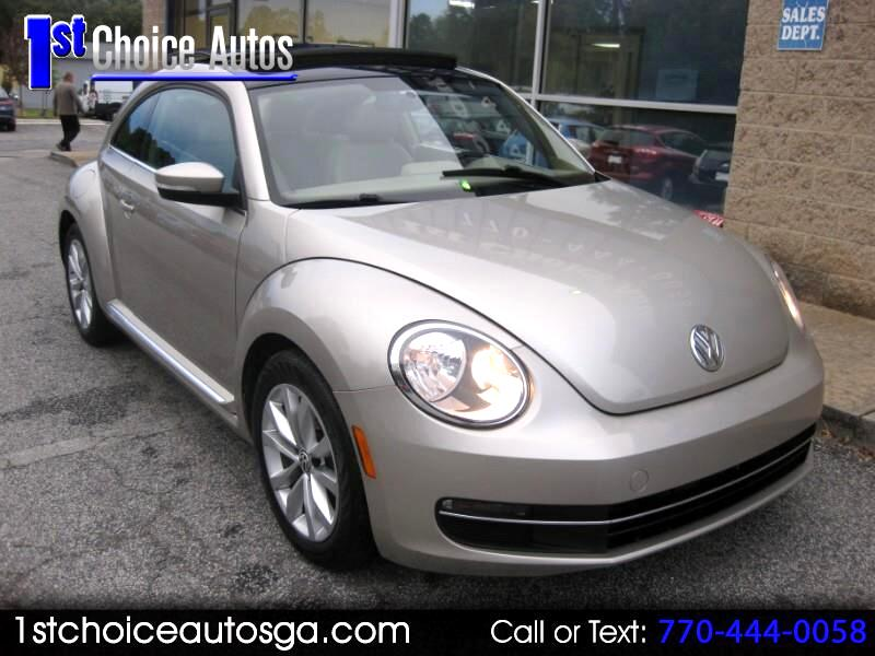 2013 Volkswagen Beetle Coupe 2dr Man 2.0L TDI w/Sun/Sound/Nav