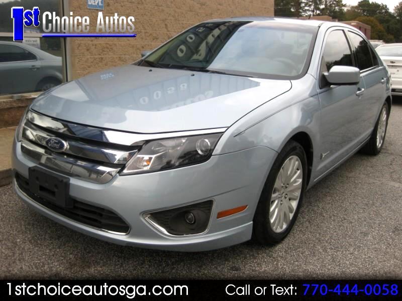 2010 Ford Fusion 4dr Sdn Hybrid FWD