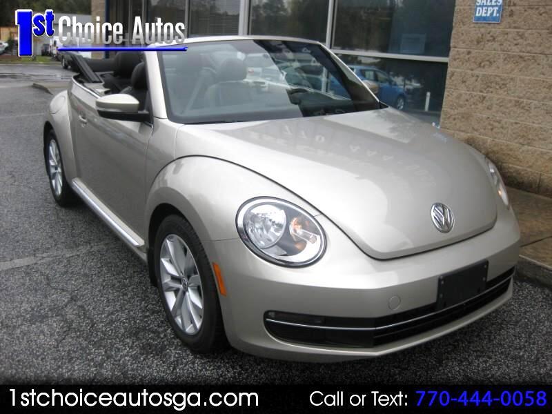 2013 Volkswagen Beetle Convertible 2dr DSG 2.0L TDI