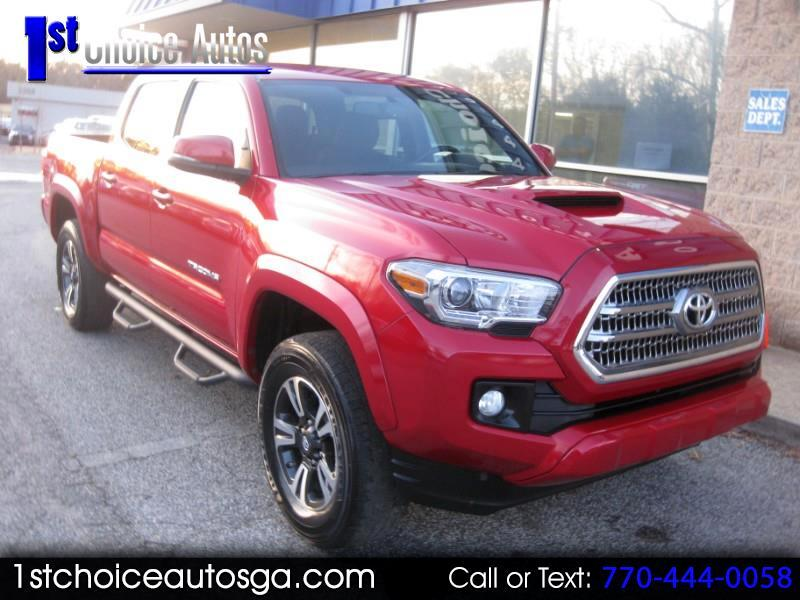 2016 Toyota Tacoma 2WD Double Cab V6 AT TRD Off Road (Natl)