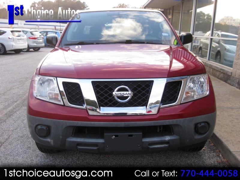 2015 Nissan Frontier 2WD King Cab I4 Auto SV
