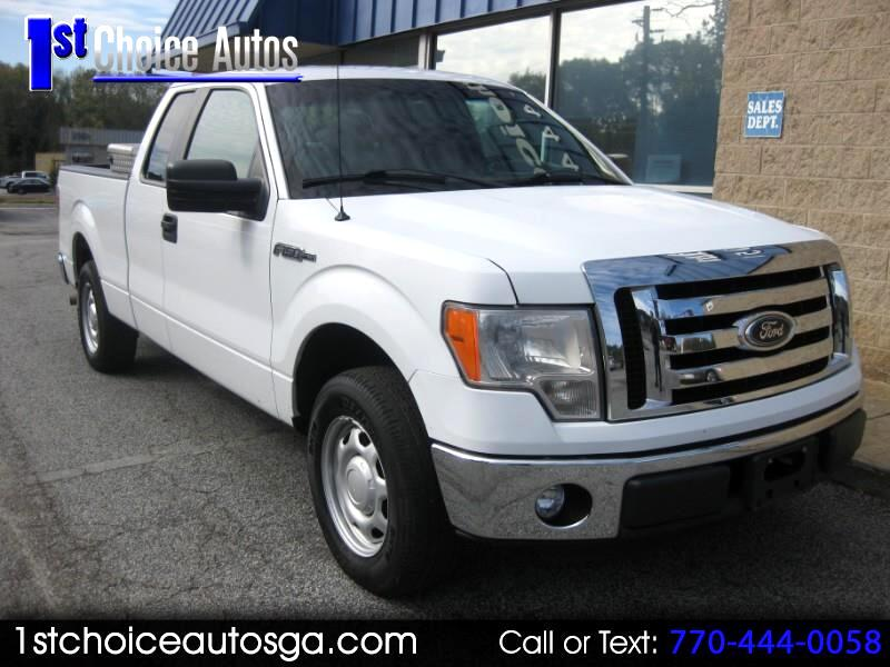 "2012 Ford F-150 2WD SuperCab 145"" Lariat"