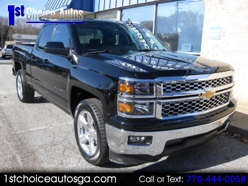 "2015 Chevrolet Silverado 1500 2WD Double Cab 143.5"" LT w/1LT"