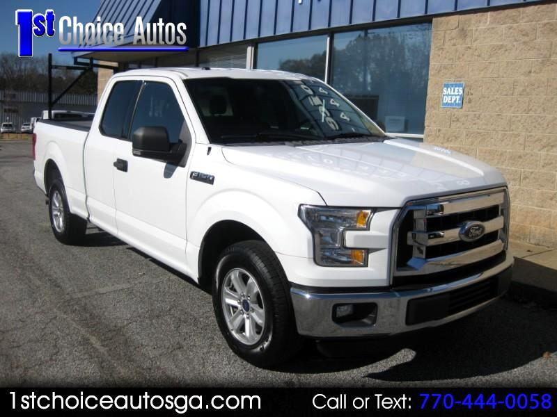 "2015 Ford F-150 2WD SuperCab 163"" XL"