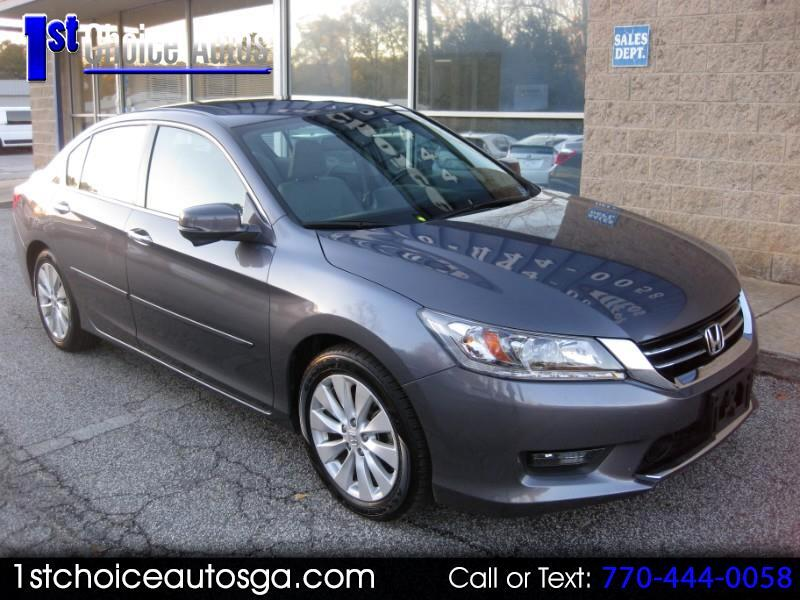 2014 Honda Accord Sedan 4dr V6 Auto Touring