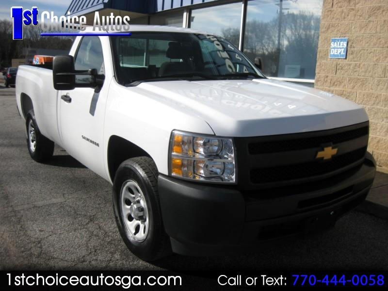 """2012 Chevrolet Silverado 1500 2WD Reg Cab 133.0"""" Work Truck"""