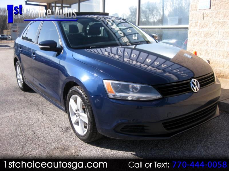 2011 Volkswagen Jetta Sedan 4dr Manual TDI