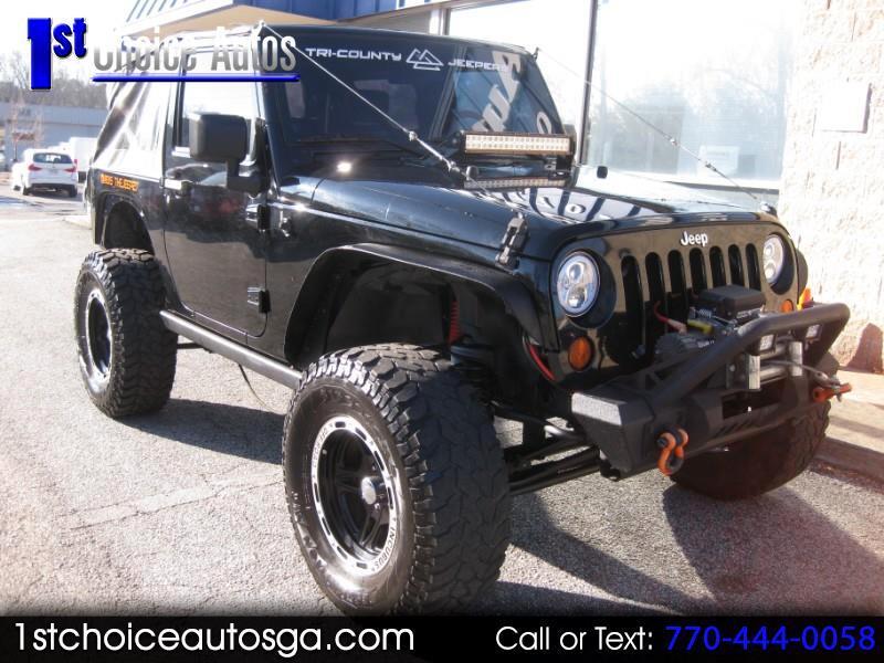 2007 Jeep Wrangler 4WD 2dr X