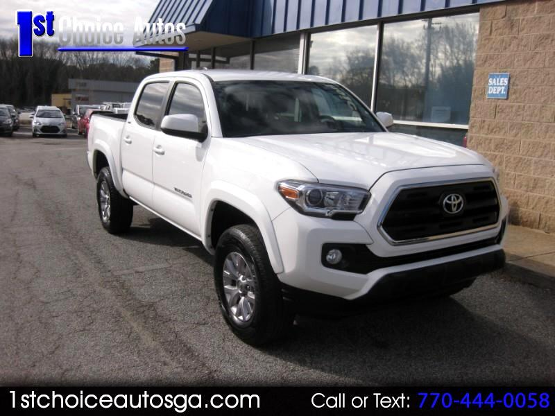 2016 Toyota Tacoma 2WD Double Cab I4 AT SR5 (Natl)