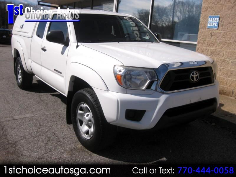 2013 Toyota Tacoma 2WD Access Cab I4 AT PreRunner (Natl)