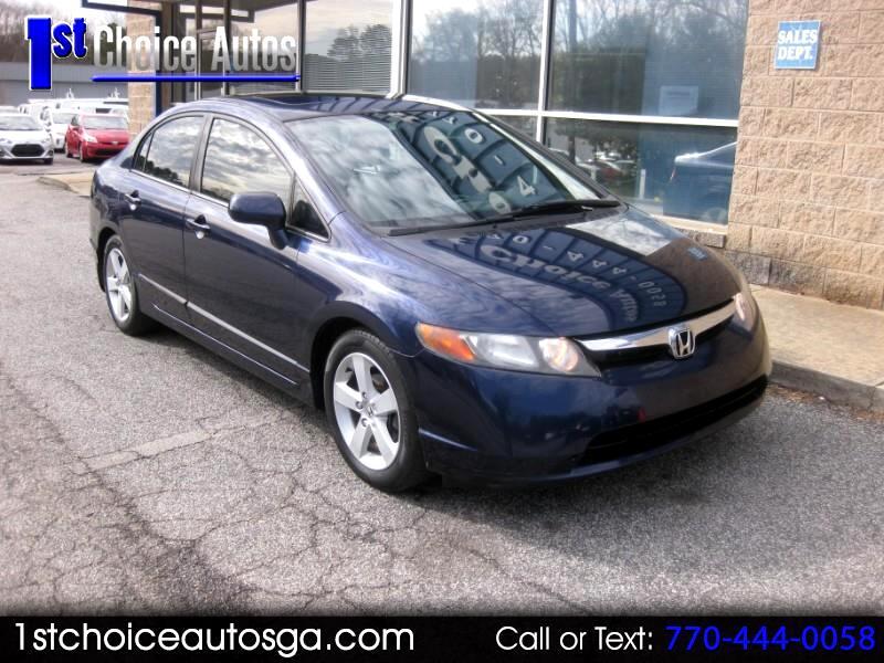 2007 Honda Civic Sdn 4dr AT EX