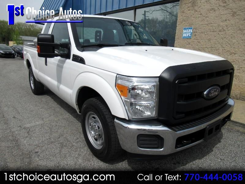 2015 Ford Super Duty F-250 SRW 2WD SuperCab 158
